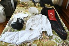 Absolute fencing gear set with Jackets, bag, practice foil, pants, and more.