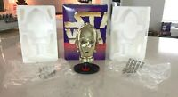 Star Wars SEE THREEPIO C3-PO Mini Helmet Riddell Trilogy Collection W/ Box 1997!