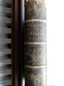 ANCIEN ATLAS 1885 LA FRANCE ILLUSTREE  par MALTE BRUN