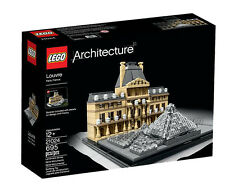 Lego Architecture 21024 The Louvre France Pyramid Buildings