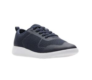 Clarks Boys Scape Soar Navy Size 13 G Sports Trainer Washable. RRP £36