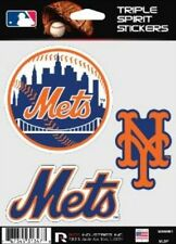New York Mets Die Cut Decals 3 Pack Car Window, Laptop, Tumbler MLB, Rico