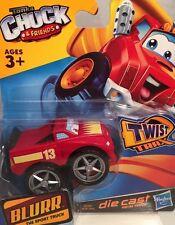 """New Tonka Chuck & Friends """"BLURR"""" die cast truck for use with Twist Trax Hasbro"""