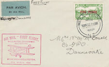 New Zealand 39 - 1932 SURVEY FLIGHT COVER WELLINGTON to DANNEWIRKE