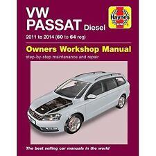 VW Passat Diesel Owners Workshop Manual 2011-2014 by John S. Mead (Paperback,...