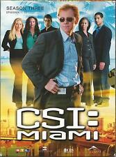 CSI Miami - Season 3.1 / 3-DVDs / DVD