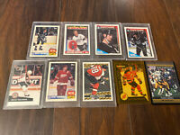 Lot Of 10 Hockey And Football Topps Pro Set Pinnacle Cards Near Mint