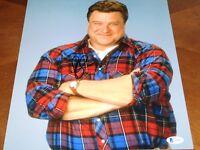 John Goodman Signed 11x14 Roseanne Photo AUTO Beckett BAS COA 'Dan Conner'