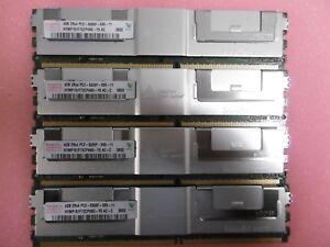 16GB 4x4GB 16GB RAM DELL PowerEdge 2900 III FB DIMM DDR2 Speicher Fully Buffered