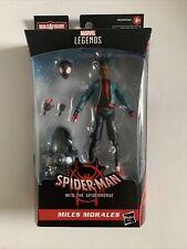 Marvel Legends Miles Morales w/ Stilt-Man BAF Spider-Man Into The Spider-Verse