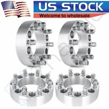 """For Dodge Ram 2500 3500 Ford E-250 F-250 4pcs Wheel Spacers 8x6.5 2""""  9/16"""""""