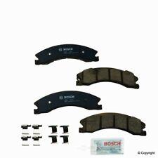 Disc Brake Pad Set-Bosch QuietCast Front,Rear WD Express 520 15650 462