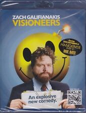 Zach Galifianakis Visioneers An Explosive new comedy Blu-ray Fast Shipping