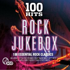100 HITS-ROCK JUKEBOX NEW DIGIPACK EDITION (The Byrds,Cyndi Lauper) 5 CD NEU