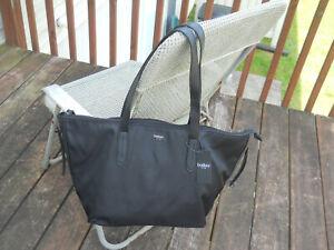 "New with Tags BOTKIER New York ""Bond"" Black Nylon Large Handbag/Tote"