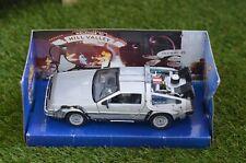 Welly Back to the Future Delorean 1:24 Model Car BTTF 1 2 3 Movie Time Machine