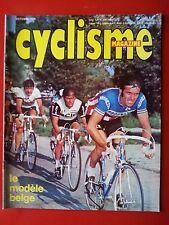 1976 l'equipe cyclisme n°104 LE CYCLISME BELGE TOUR DE LOMBARDIE U.S.A HINAULT