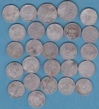 Lot  26  x  1 F , 2 F   Djibouti  Afars et Issars   non nettoyés  Aluminium