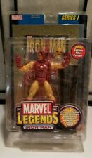 New Sealed Marvel Legends Ironman Series 1 Figure w/ Gold Foil Version Rare