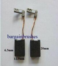 Spazzole Di Carbone Per Adattarsi Bosch ROTANTE martello di demolizione 1617014122 6.3X12.5mm D16