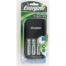 New Energizer CH15MNCP4 15 Minute Charger With 4 AA's