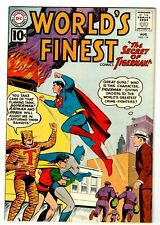 WORLD'S FINEST #119 (VF/NM) TIGERMAN Cover Story Appearance! High Grade! 1961 DC