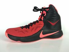 Nike Zoom Hyperfuse 2014 Men's Black And Red Sneakers Size 12.5