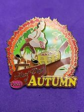 Disney Pin First Day Of Autumn 2003 Le1000