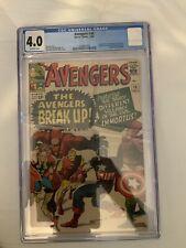 avengers 10 cgc 4.0