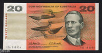 Australia. R-402F (1967) 20 Dollars - Coombs/Randall. 1st Prefix XBQ..  gVF-aEF