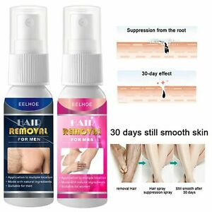 Painless Hair Removal Spray Stop Hair Growth Inhibitor Face Arm Armpit Leg