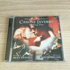 Ennio Morricone - Canone Inverso - CD Album Soundtrack - 2000 Virgin