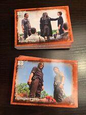 Topps Walking Dead Season 8 Rust Parallel Base Card Set Cards 1 - 90