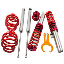 Suspensions Coilovers Adj. Lowering Kit for 98-06 BMW E46 3-Series Struts Red