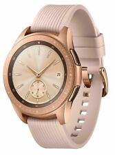Rose Gold Samsung Galaxy Watch 42mm Bluetooth Smart Watch UK Version SM-R810 GPS