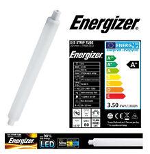 1 x S15 3.5w (=30W) bande lumière LED Tube 221mm givré Opale (Energizer S9217)