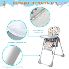 Home Baby High Chairs Basket Booster Toddler, 3-Position Adjustable Food Tray