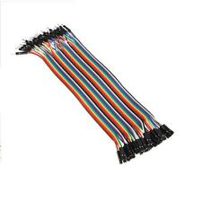 40 Pieces Male-Female Breadboard Jumper Cable / Hookup Wire 200mm F-M M-F