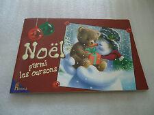 LIVRE - NOEL PARMI LES OURSONS - 8 chansons de Noel -