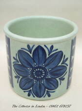 Midwinter Stonehenge Blue Dahlia Pattern Tea Size Sugar Bowl Looks in VGC