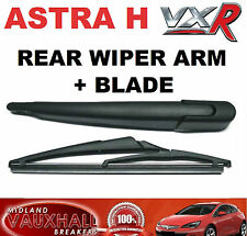 VAUXHALL ASTRA H VXR NEW REAR WINDOW WIPER ARM AND BLADE FOR BACK WINDSCREEN