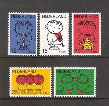 Nederland    Nummer  932/936   Postfris.