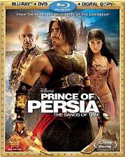 Disney Prince of Persia The Sands of Time Blu-ray DVD Digital Copy 3 Disc LM8