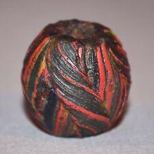 Ancient Medieval Islamic Fustat Fused Rod Morphia / Morfia Glass Bead Mauritania