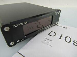DAC Topping D10S analog Wandler Decoder neuwertig