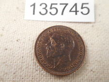 1936 Great Britain Farthing - Nice Collector Grade Coin - Some Red - # 135745