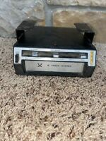 vintage under dash car stereo 8 track player Sears model 22050400 audio untested