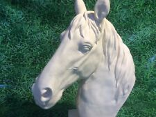 LATEX ONLY MOULD HORSE HEAD BUST GATEKEEPER 45CM TALL ORNAMENT MOULD