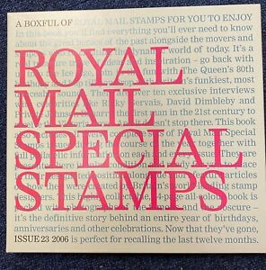 2006 Book 23 Post Office Year Book Complete with Slip Cover and Stamps