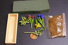 1:12 FAI DA TE FIORE Box Kit Casa delle Bambole Miniatura Accessorio da giardino Iris un
